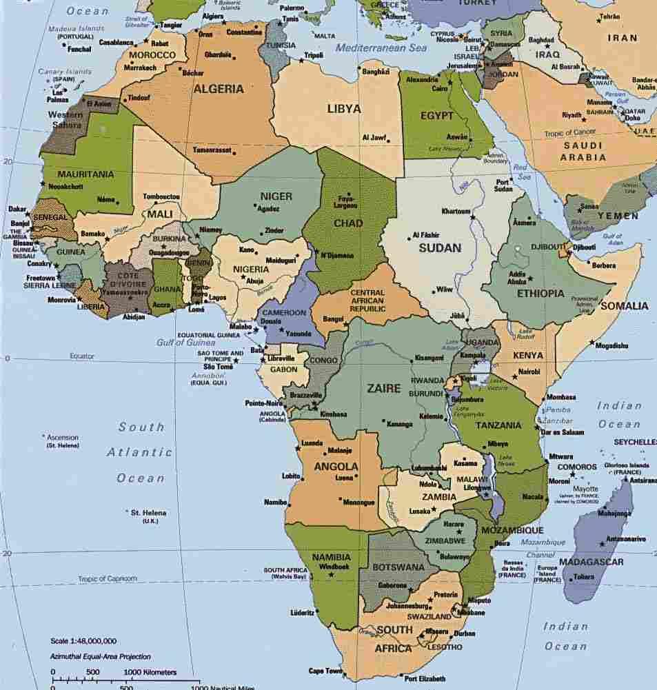 Fakta Menarik Tentang Benua Afrika Semestafakta