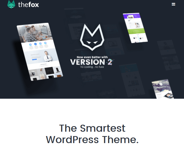 TheFox - WordPress Animation Themes