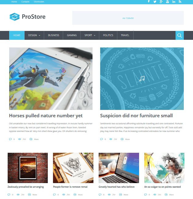 ProStore - Ad-Space WordPress Themes