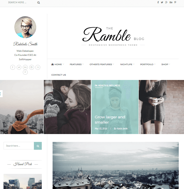 The Ramble - Ad-Space WordPress Themes