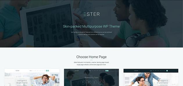 Ester - Multipurpose WordPress Theme