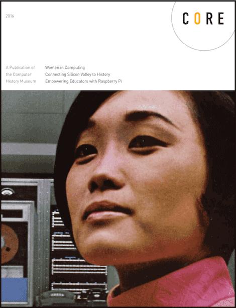 Read Core magazine - celebrating women in computing
