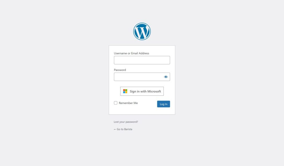 Single Sign-on with Microsoft for WordPress