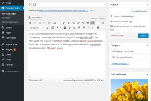 timeline-and-history-slider-edit-page