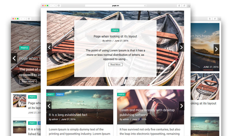 Responsive Recent Post Slider Pro 2