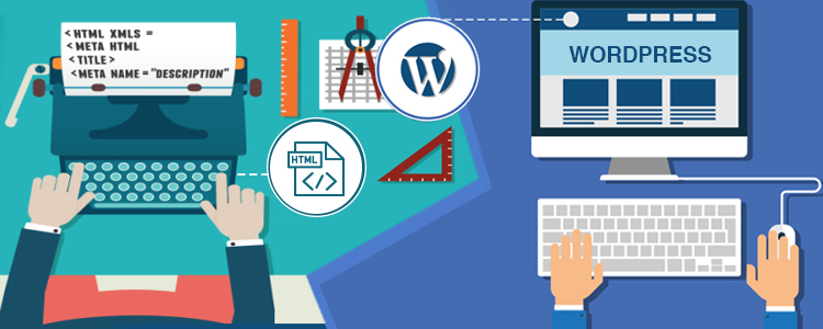 Migrate HTML Sites towards WordPress Sites