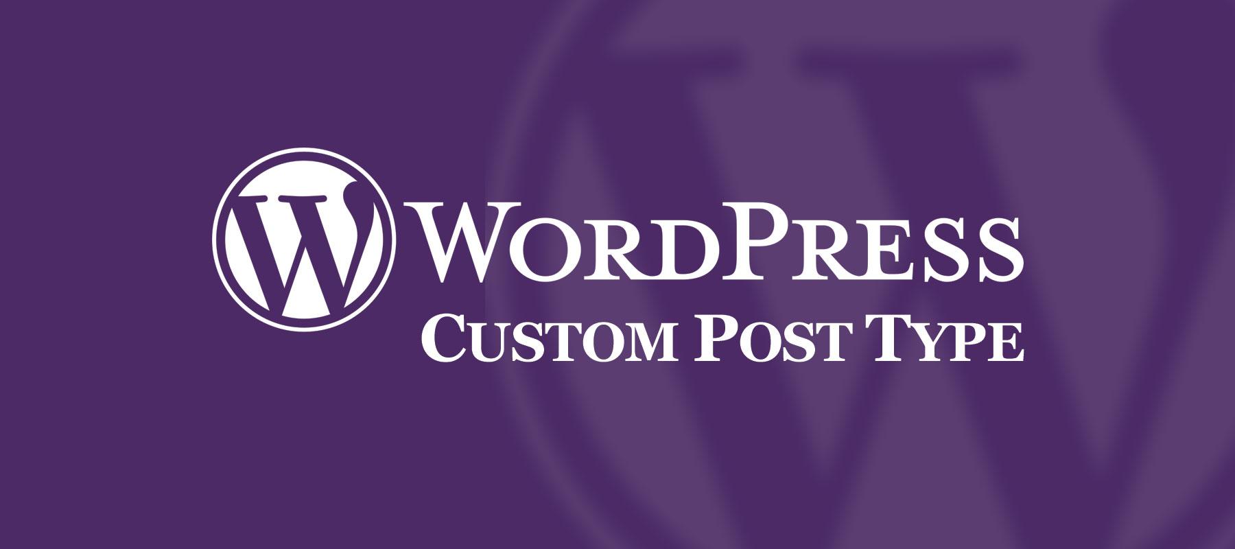WordPress Custom Post Type