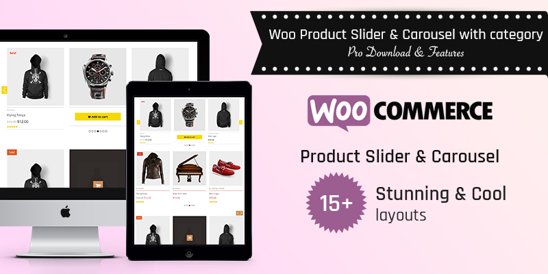 Woo Product Slider and Carousel with Category