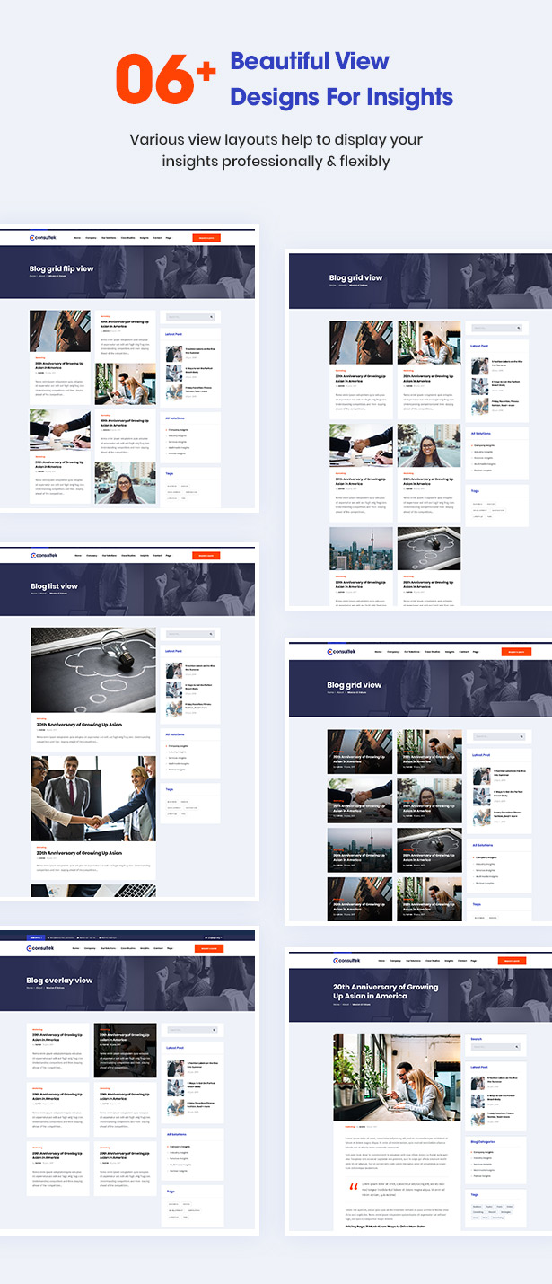 Consultek View Design- Consulting Business WordPress Theme