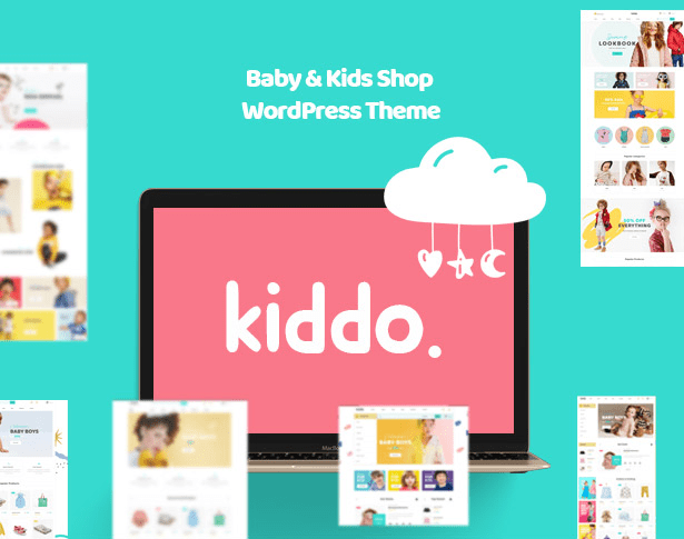 Kiddo Baby & Kid Fashion WooCommerce WordPress Theme