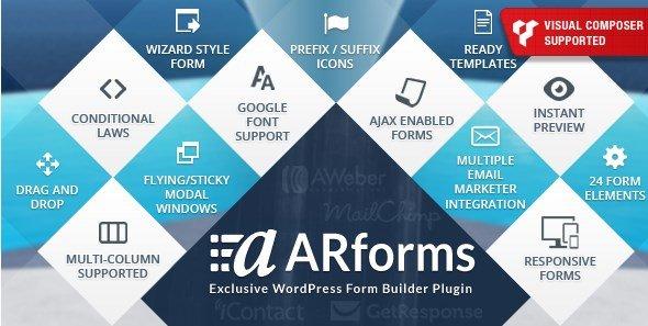 ARForms - WordPress Form Builder Plugin