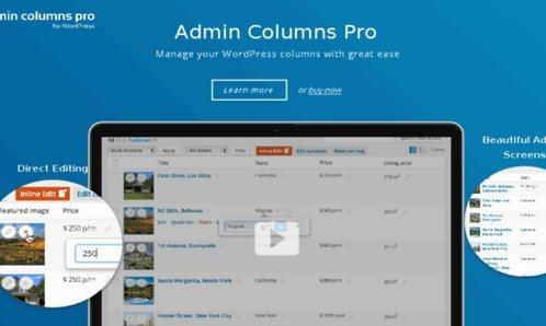 Admin Columns Pro Ninja Forms Addon