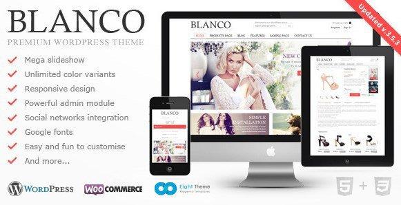 Blanco - Responsive WordPress E-Commerce Theme
