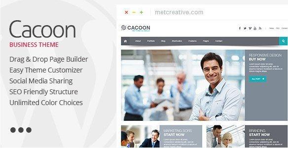 Cacoon - Responsive Business WordPress Theme