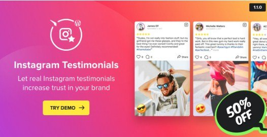 Instagram Testimonials Plugin for WordPress