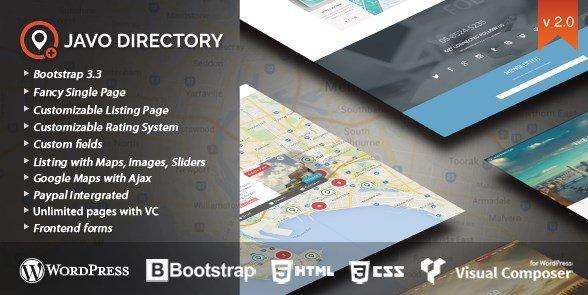 Javo - Directory WordPress Theme