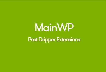 MainWP Post Dripper Extension