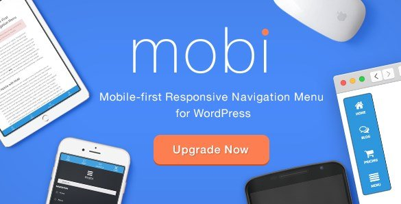 Mobi - Mobile First WordPress Responsive Navigation Menu Plugin