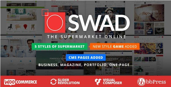 Oswad - Responsive Supermarket Online Theme