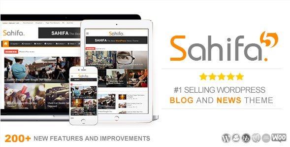 Sahifa - Responsive WordPress News / Magazine / Newspaper Theme