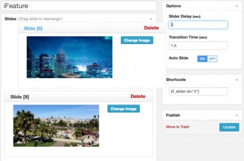 CyberChimps iFeature Slider Pro WordPress Plugin