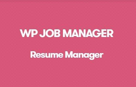 WP Job Manager Resume Manager Addon