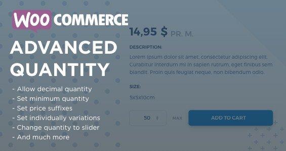 WooCommerce Advanced Quantity Download