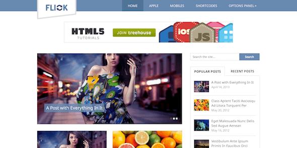 MyThemeShop Flick WordPress Theme