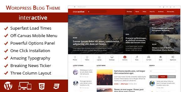 MyThemeShop Interactive WordPress Theme