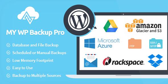 MyThemeShop My WP Backup Pro WordPress Plugin