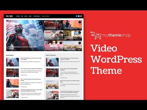 MyThemeShop Video WordPress Theme