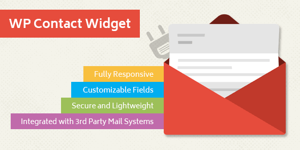 MyThemeShop WP Contact Widget WordPress Plugin