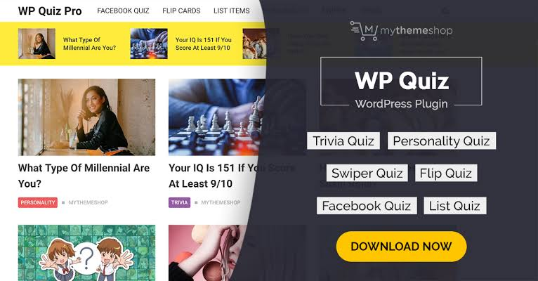 MyThemeShop WP Quiz Pro WordPress Plugin