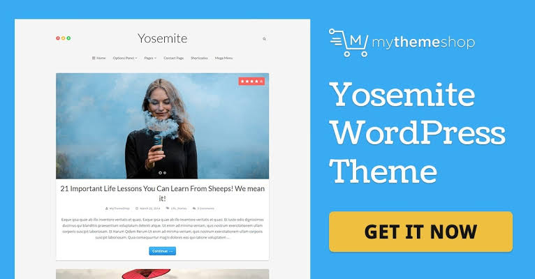 MyThemeShop Yosemite WordPress Theme