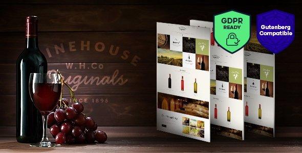 Wine House | Winery & Restaurant WordPress Theme