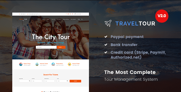 Travel Tour - Tour Booking
