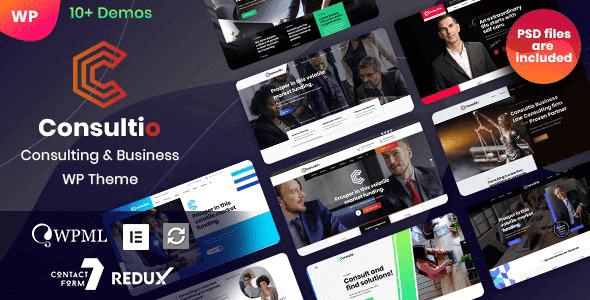 Consultio - Consulting Business WordPress