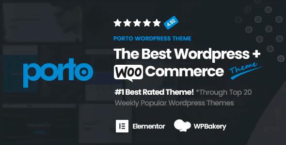Porto - Responsive WordPress + eCommerce Theme