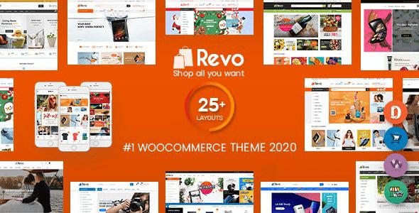Revo - Multi-Purpose Responsive WooCommerce Theme