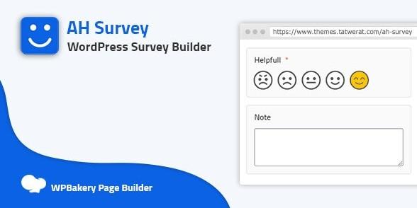 AH Survey - Survey Builder With Multiple Questions Type