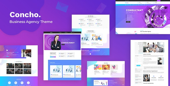 Concho - Consulting Services WordPress