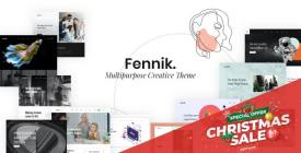 Fennik - Multipurpose Creative Theme