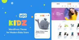 KIDZ - Baby Shop - Kids Store WordPress WooCommerce Theme
