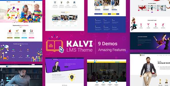 Kalvi - LMS Education WordPress Theme