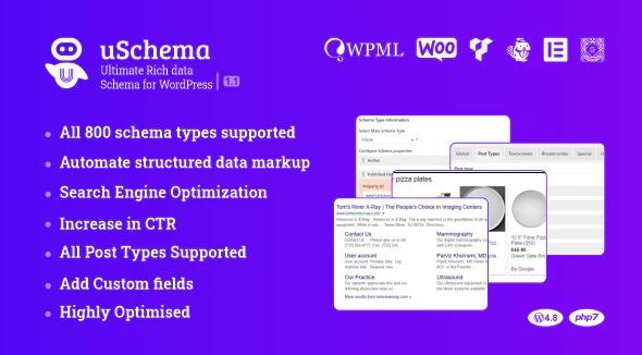 uSchema Ultimate Rich Data Schema for WordPress