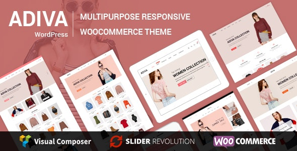 Adiva eCommerce WordPress Theme v.
