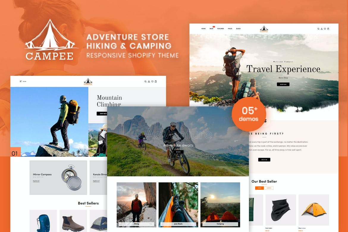 Campee - Adventure Store Hiking and Camping Shopify Theme