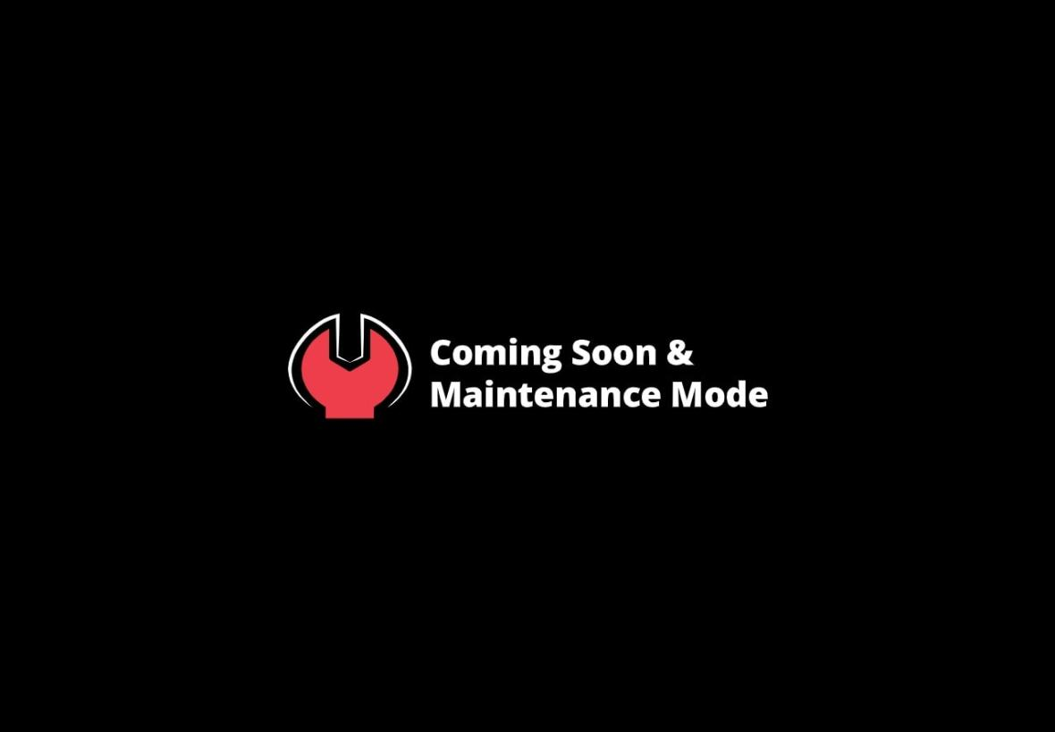 Coming Soon - Maintenance Mode Pro