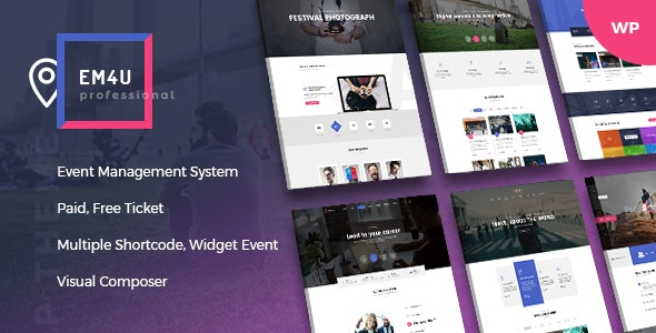 EMU - Events WordPress Theme for Booking Tickets