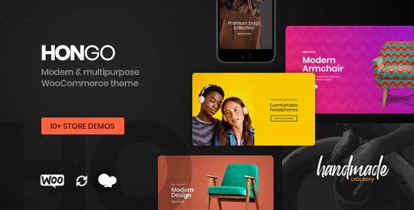 Hongo Modern - Multipurpose WooCommerce WordPress Theme